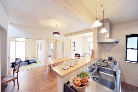お客さまの生活スタイルに寄り添った、快適な住空間を。