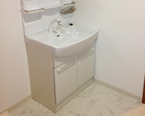 洗面台のリフォーム